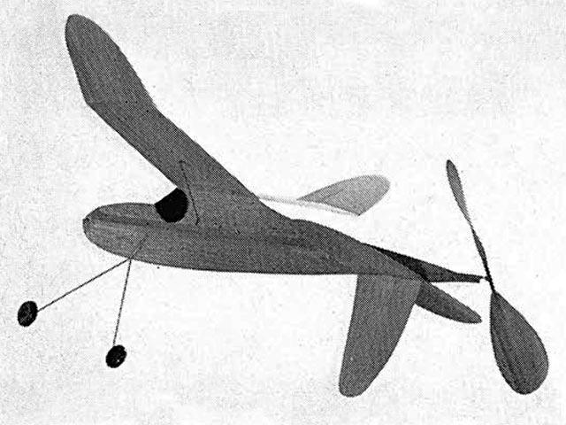 Pusher (oz6120) by Ed Lidgard from Aeromodeller 1968