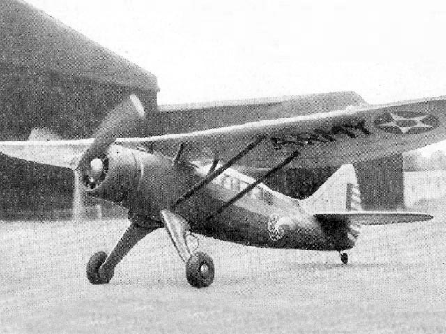 Douglas O-46A - completed model photo