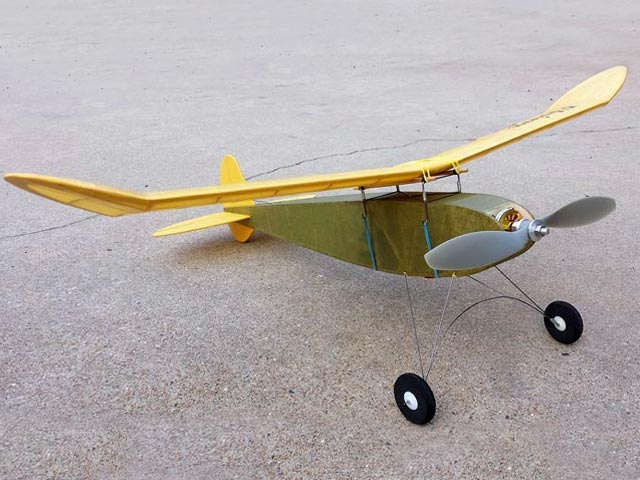 Flying Midget (oz6140) by Vic Smeed from Aeromodeller 1993