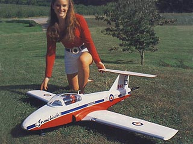 Canadair CT-114 Tutor - completed model photo