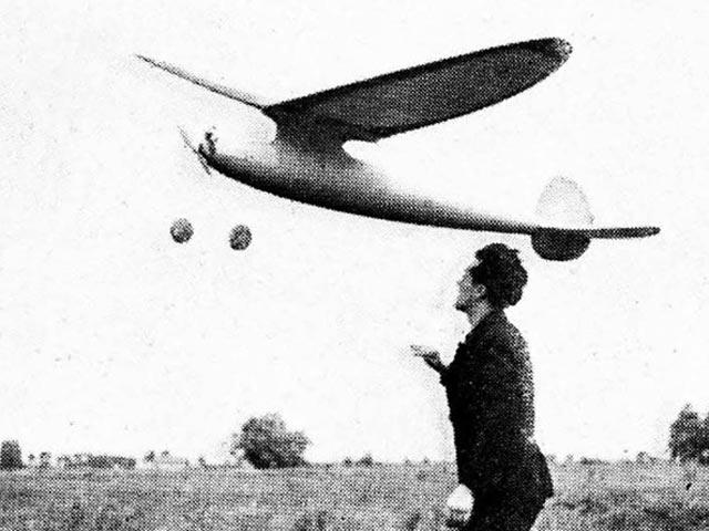 Valkyrie (oz6156) by Carl Goldberg from Air Trails 1938