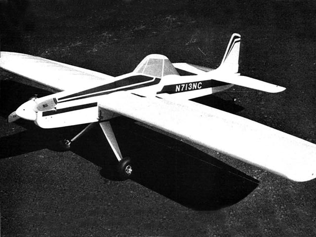 Cessna AGwagon (oz6157) by Larry Kruse from Flying Models 1979