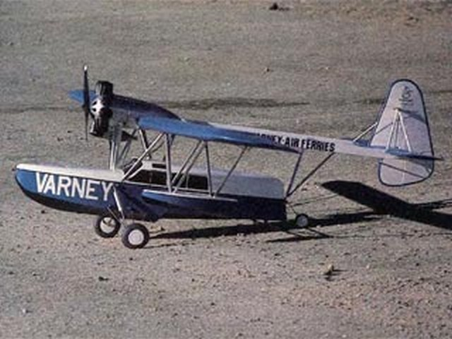 Sikorsky S-39 (oz6170) by Bob Rich from RCMplans 1991