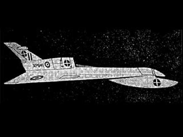 Handley Page 115 (oz6189) by Bill Hannan from Aeromodeller 1969