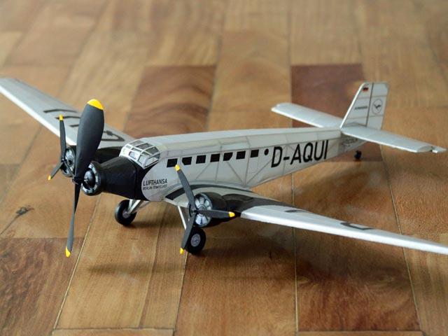 Junkers Ju 52 (oz62) by Daniel Cerutti
