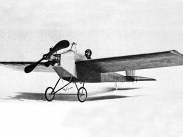 Eastbourne Monoplane 1911 (oz6221) by Don Srull from RCMplans 1969