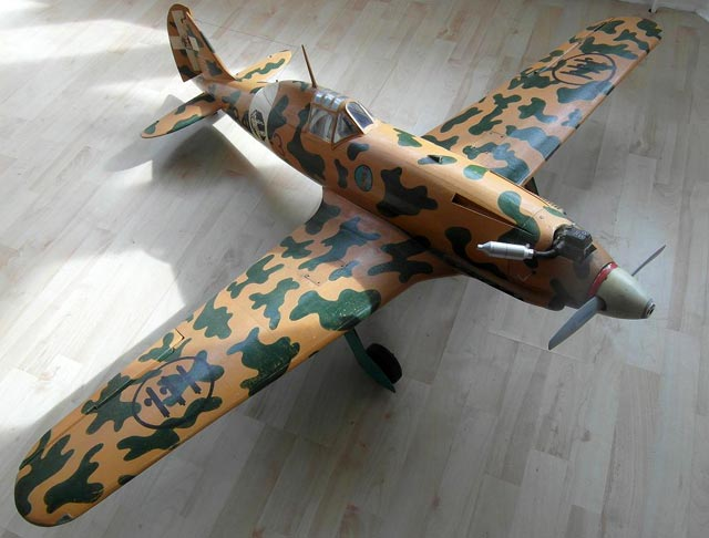Macchi 202 (oz6255) by Dennis Bryant from RCMplans 1967
