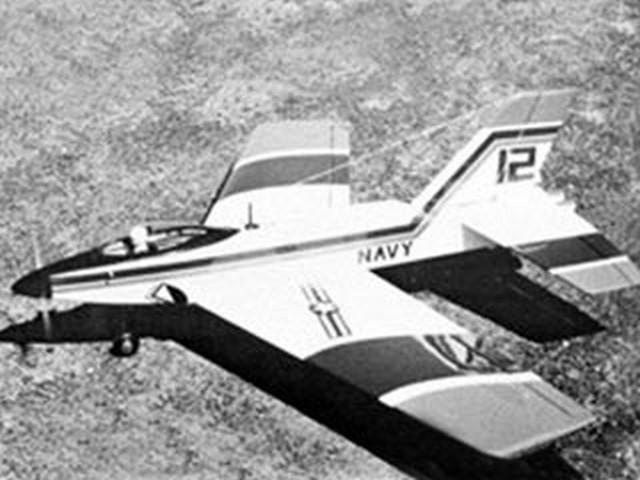 Esprit (oz6258) by Van Twelves from Model Airplane News 1978