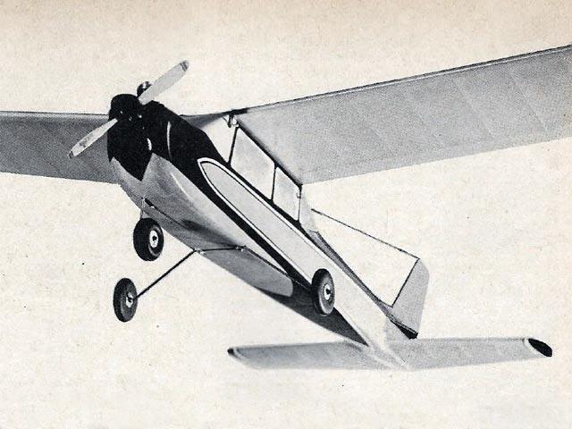 Cessna Skylane (oz6262) by R Jess Krieser from Model Airplane News 1964