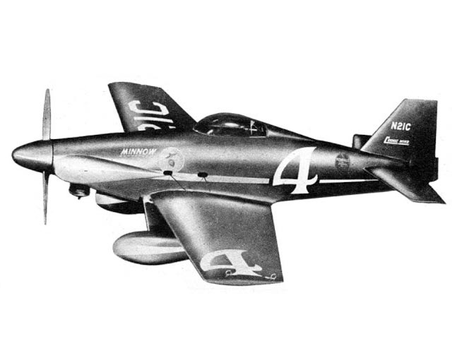 Minnow (oz6263) by Paul Plecan from Aircraft Plan Company