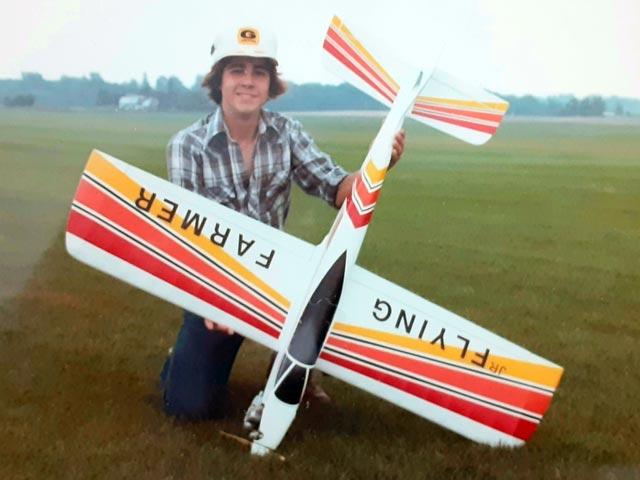 Saker (oz6267) by Stan Johnson from Solution Aeromodel 1982