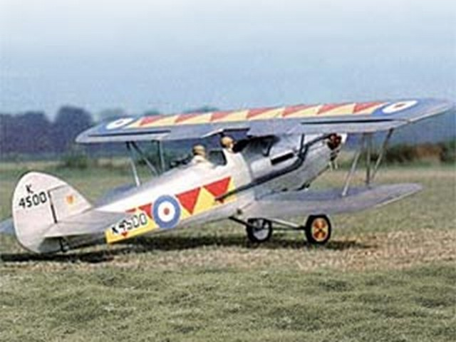 Hawker Demon (oz6269) by Gordon Whitehead from RCMplans 1979