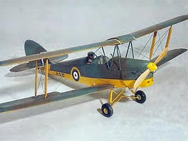 Tiger Moth (oz6272) by Gordon Whitehead from RCMplans