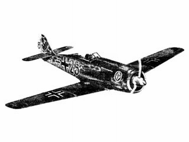 Focke-Wulf 190 (oz6278) from Sterling
