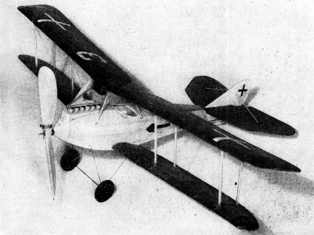 Rumpler C-5 - completed model photo