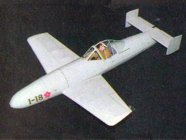 Yokosuka MXY-7 Ohka (oz6292) by Steve Bage from RC Model Flyer 2006