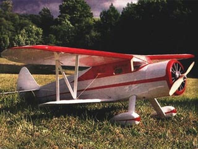 Waco-E (oz6313) by Laddie Mikulasko from RCMplans 1993