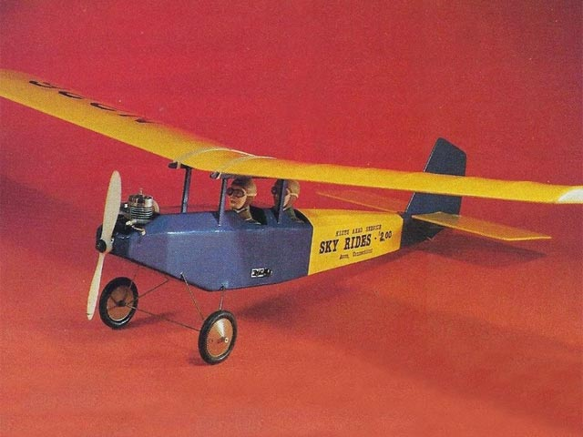 Prairie Canary (oz6318) by Bob Wallace from RCMplans 1979