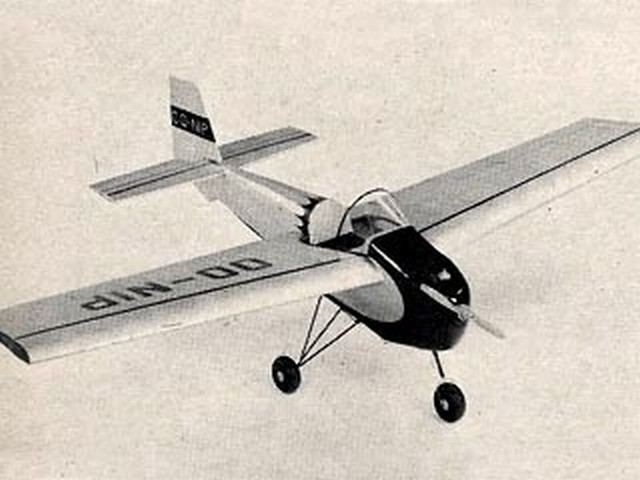 Tipsy Nipper (oz6327) by James Noonan from Model Airplane News 1960