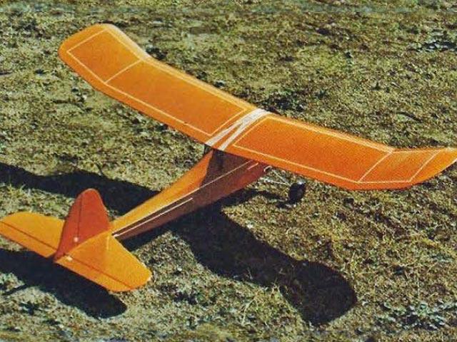 Baby Buzzard (oz6367) by Art Hemler from RCMplans 1974