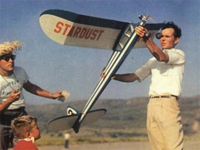 Starduster (oz6369) by Paul Gilliam, Bob Hunter from Flying Models  1960