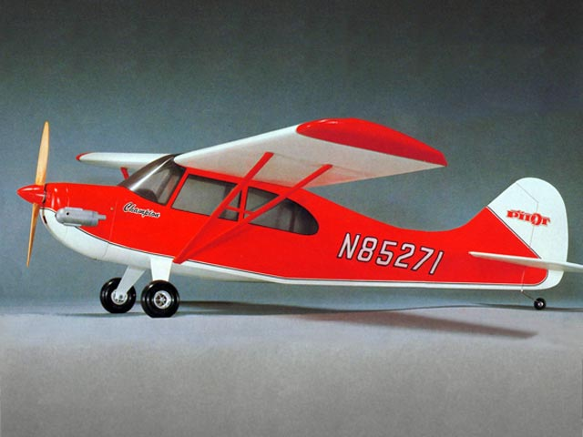 Aeronca Champion 20 (oz6418) by Y Matsumoto from OK Model Pilot