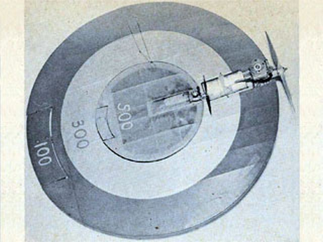 Target and Bullseye (oz6425) by Larry Scarinzi from Model Airplane News 1962
