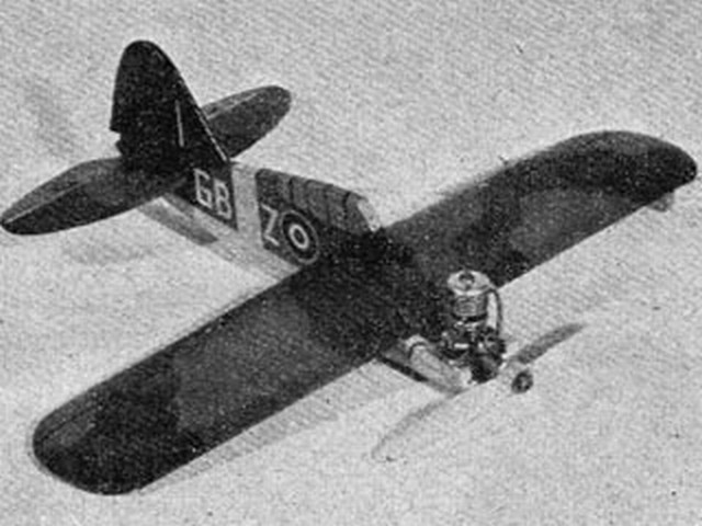 Brewster Buffalo (oz6436) by Ray Malmstrom from Model Aircraft
