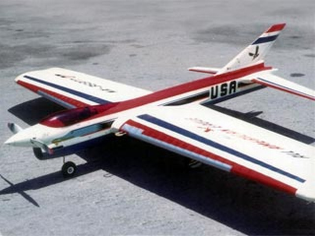 All-American Eagle (oz6441) by Dave Gierke from Model Airplane News 1968