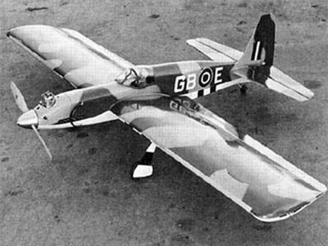 Mustunt (oz6443) by Al Rabe from American Aircraft Modeler 1973