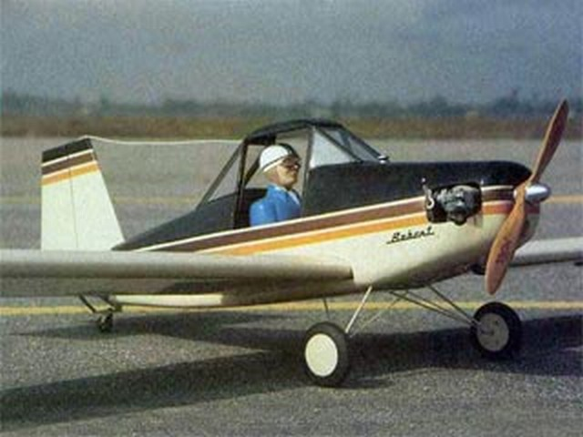 Bobcat (oz6445) by Dick Tichenor from RCMplans 1988