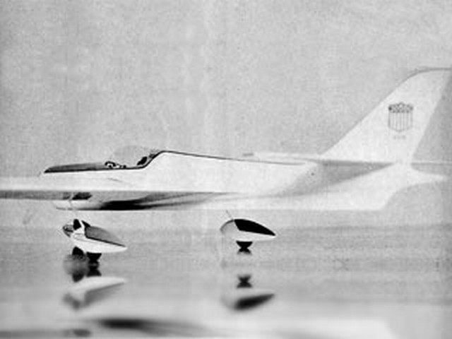 Electra X-35 (oz6458) by Jerry Worth from Model Airplane News 1964