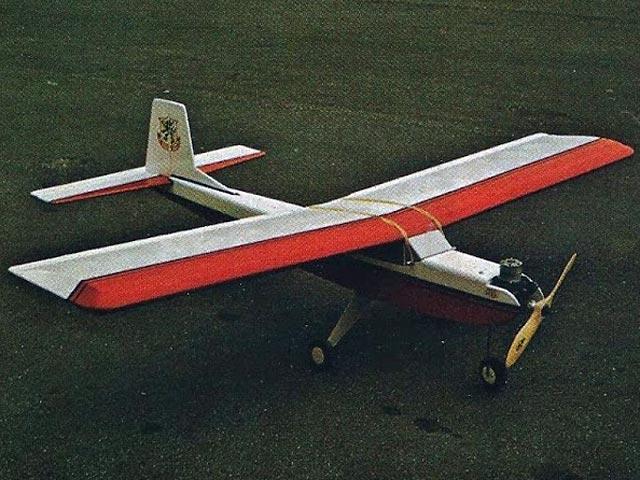 RCM Trainer Jr (oz6465) by Joe Bridi from RCMplans 1974