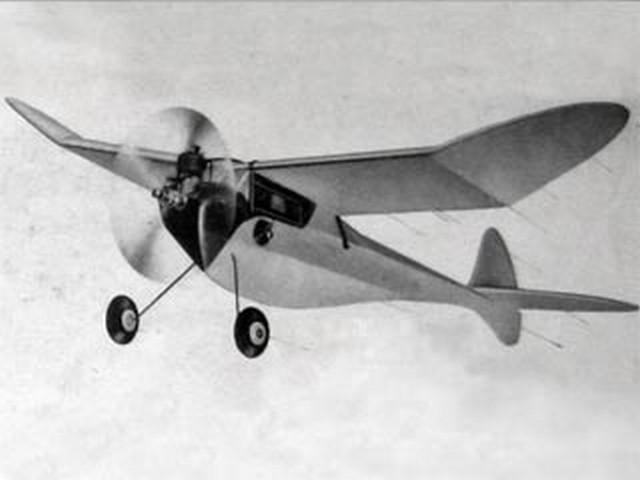 Sky Rocket Super-A (oz6469) by Bill Effinger from Berkeley 1946