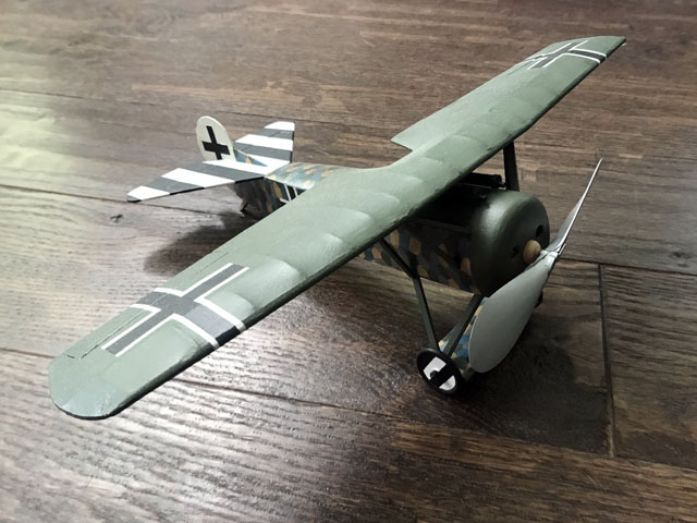 Fokker D8 (oz648) from Sterling