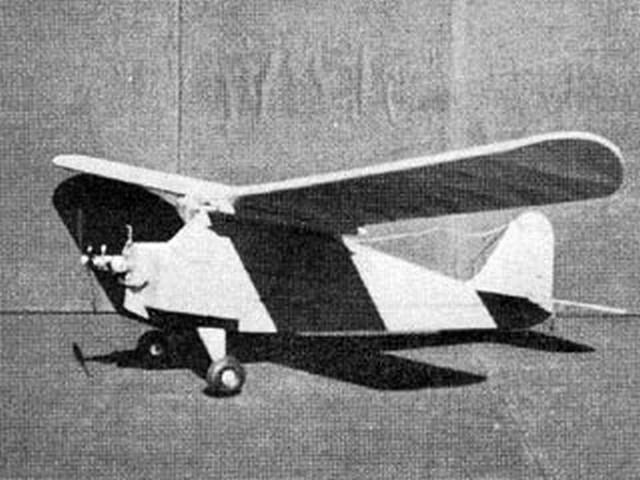 Aeronca Champion (oz6520) by Herman Geller from RCMplans 1967