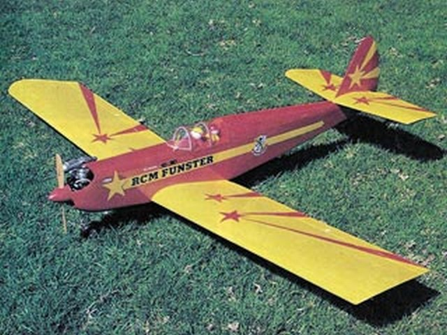 Funster 40 (oz6545) by Dick Tichenor from RCMplans 1982