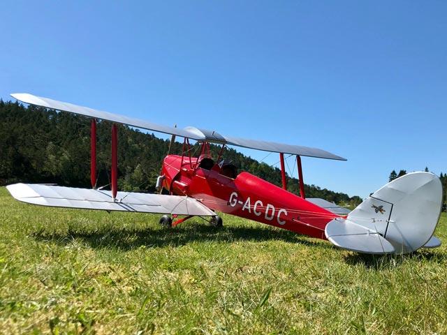 DH.82A Tiger Moth - oz6554 - HansPetterStue_Norway