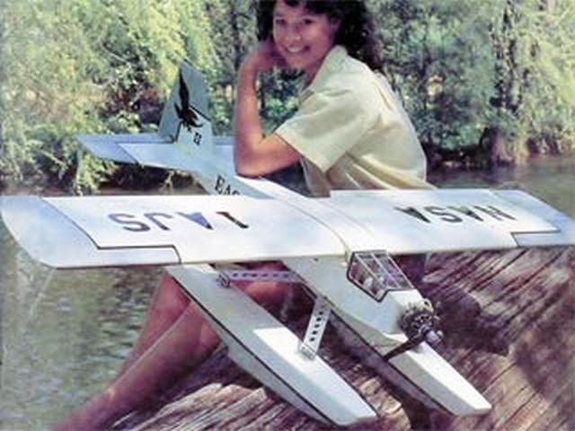 Northrop Eagle II (oz6557) by John Sullivan from RCMplans 1985
