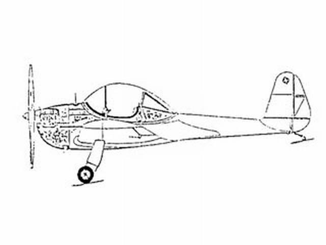 Piper Pa-8 Skycycle Plan - Free Download