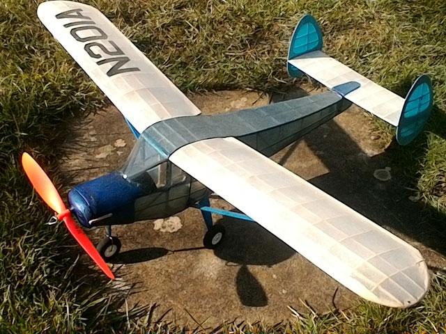 Skyfarer - completed model photo