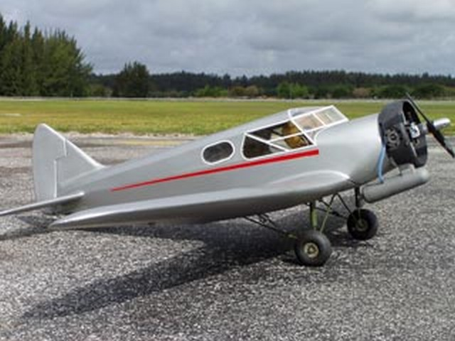 British Airspeed Courier - completed model photo