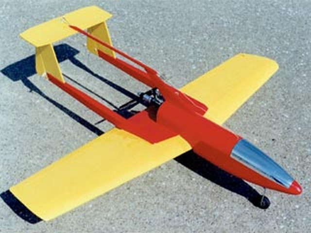 Hero 40 (oz6646) by Joel Cimmino from Model Aviation 1996