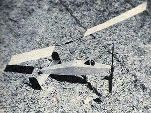 Sure Fire Autogiro (oz6677) by Roy Clough from Model Airplane News 1948