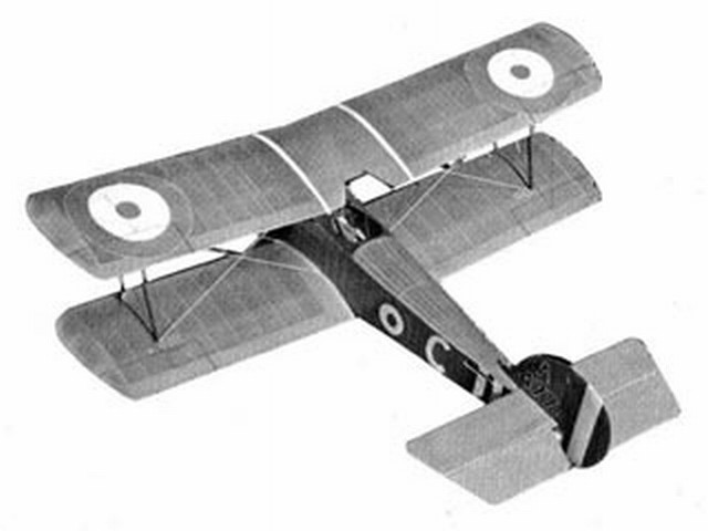 Sopwith Pup (oz6692) by Joe Hankes from American Aircraft Modeler 1971
