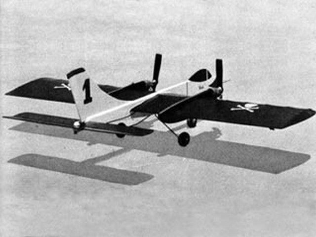 Pirata Twin (oz6698) by Alexis Poyato from Air Trails 1956