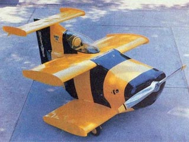 Bumble Bee (oz6743) by Ken Willard from RCMplans 1988