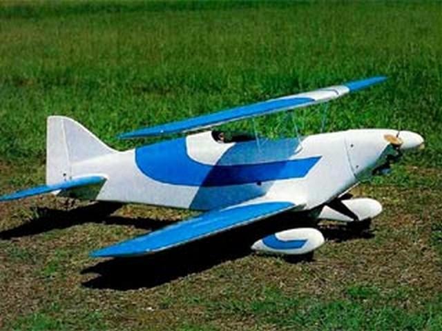 Osprey Bipe (oz6760) by Alex Bouknight from RCMplans 1989