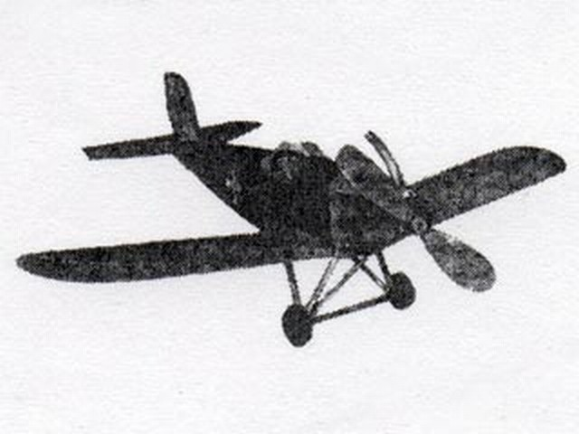 Junkers D1 (oz6761) from Madison Model Airplanes