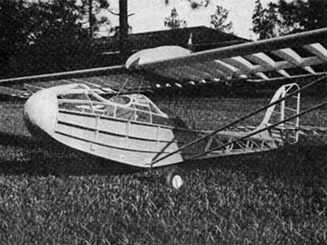 Curtiss Junior (oz6788) by Bruce Lund from RCMplans 1979